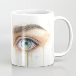 Crying Earth Eye Coffee Mug