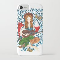 oana befort iPhone & iPod Cases featuring PLAY ME A SONG by Oana Befort