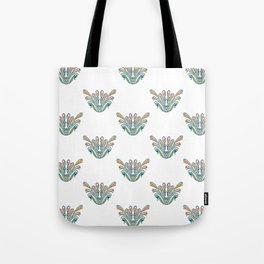 Exotic white Tote Bag