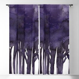 Tree Impressions No.1G by Kathy Morton Stanion Blackout Curtain