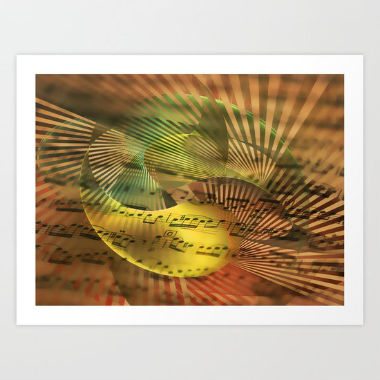 Never Passing Connection Art Print