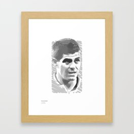 World Cup Edition - Steven Gerrard / England Framed Art Print