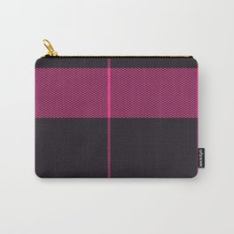 Pink Plaid Carry-All Pouch
