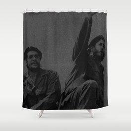 Che Guevara & Fidel Castro in 1961 Shower Curtain