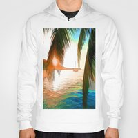 paradise Hoodies featuring Paradise by Robin Curtiss