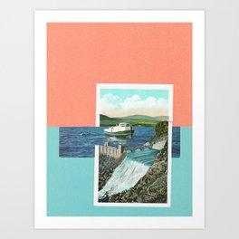 Dam. Art Print