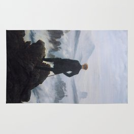Wanderer Above the Sea of Fog Rug