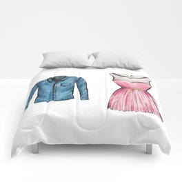 His and Hers Comforters