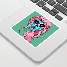 Pastel Sugar Skull Sticker