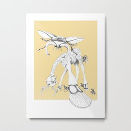 Weird & Wonderful: What bugs you? Metal Print