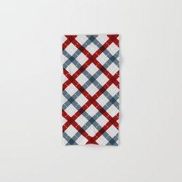 Colorful Geometric Strips Pattern - Kitchen Napkin Style Hand & Bath Towel