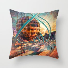 Parikrama Throw Pillow