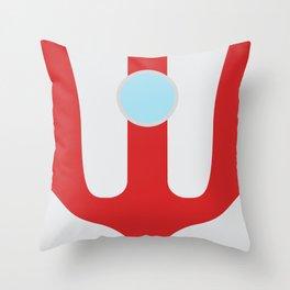 Ultraman_First Throw Pillow