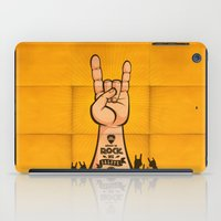 rock and roll iPad Cases featuring Rock & Roll by Rodrigo Molina