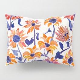 Sunflowers – Sunset Palette Pillow Sham