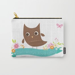 Owlways love you owl Carry-All Pouch
