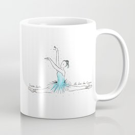 Swan Lake Ballerina Coffee Mug
