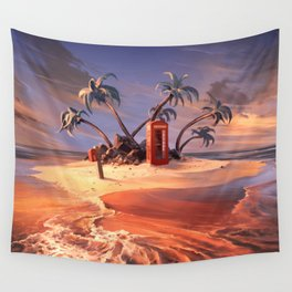 In the event of sinking Wall Tapestry