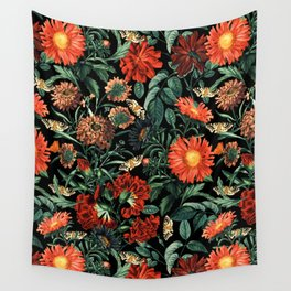 NIGHT FOREST XVIII Wall Tapestry