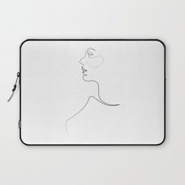 single line art - replete 2 Laptop Sleeve