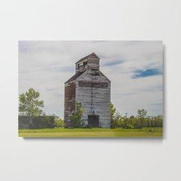 Grain Elevator, Golden Valley, North Dakota 2 Metal Print
