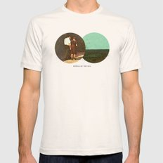 Boring by The Sea   Collage LARGE Natural Mens Fitted Tee