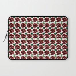 Garnets and fractal hearts Laptop Sleeve