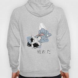 TIRED - SAD JAPANESE ANIME AESTHETIC Hoody