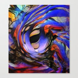 Movements Of A Visionary Canvas Print