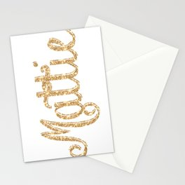 Mattie pillow Glitter Glistening! Stationery Cards