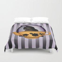 Teapot Cat Duvet Cover