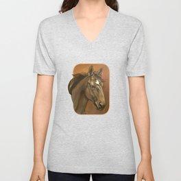 Sound Reason - Thoroughbred Stallion Unisex V-Neck