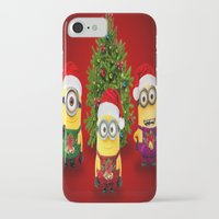 minions iPhone & iPod Cases featuring trending  , trending  games, trending  blanket, trending  duvet cover, trending  shower curtain by ira gora