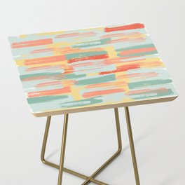 Summer Cheer | Light & Bright Paint Swatches Side Table