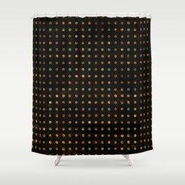 Pixel - Cool Colors Shower Curtain