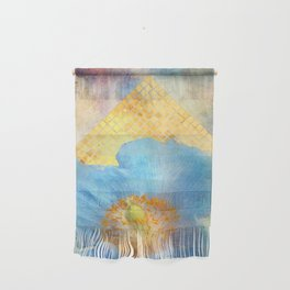 Sky Poppy Wall Hanging