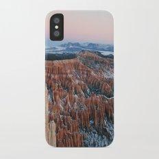Bryce Canyon Sunrise iPhone X Slim Case