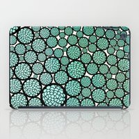 trees iPad Cases featuring Blooming Trees by Pom Graphic Design
