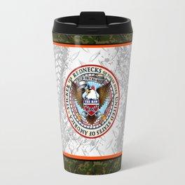Official Redneck Seal of America  Travel Mug