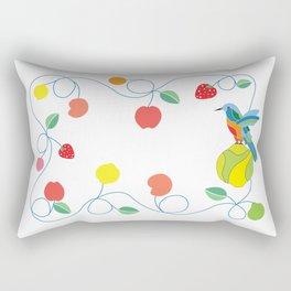 Kitchen hummingbird Rectangular Pillow