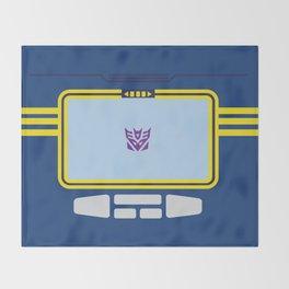 Soundwave Transformers Minimalist Throw Blanket
