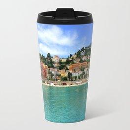 Menton Harbour View Travel Mug