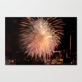 Firework collection 11 Canvas Print