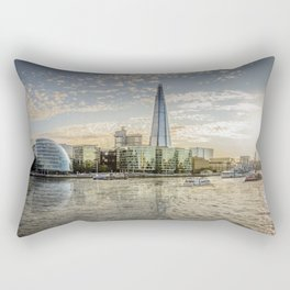 London waterfront Rectangular Pillow
