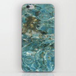Water texture for iPhone iPhone Skin
