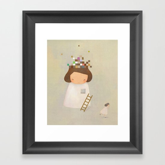 PIECE TO PEACE Framed Art Print