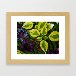 Welcome To The Jungle Framed Art Print