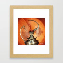 Magic Bottle Framed Art Print
