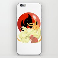 Of Many Tails iPhone & iPod Skin