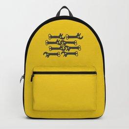 key! yellow Backpack